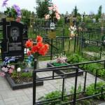 Уборка места захоронения