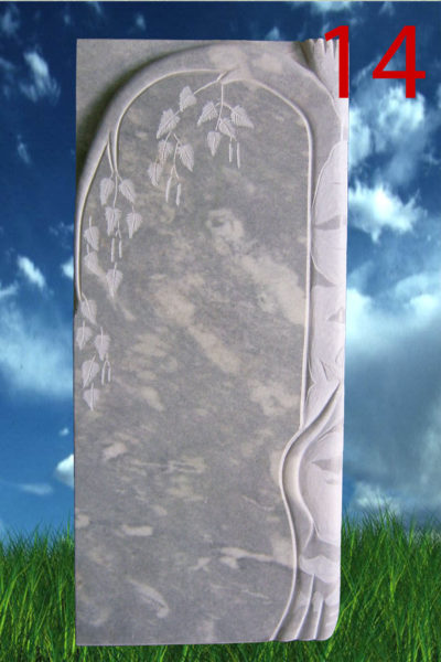 мраморный памятник береза