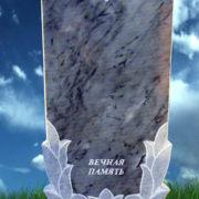 Мраморный памятник серый