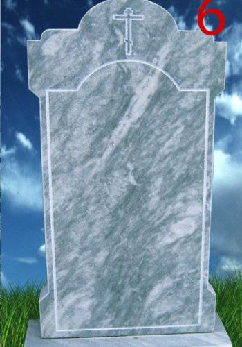 Памятник мрамор серый