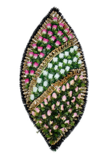 Большой дорогой венок на похороны