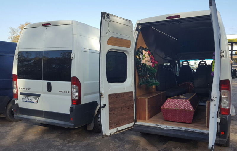 микроавтобус катафалк груз 200