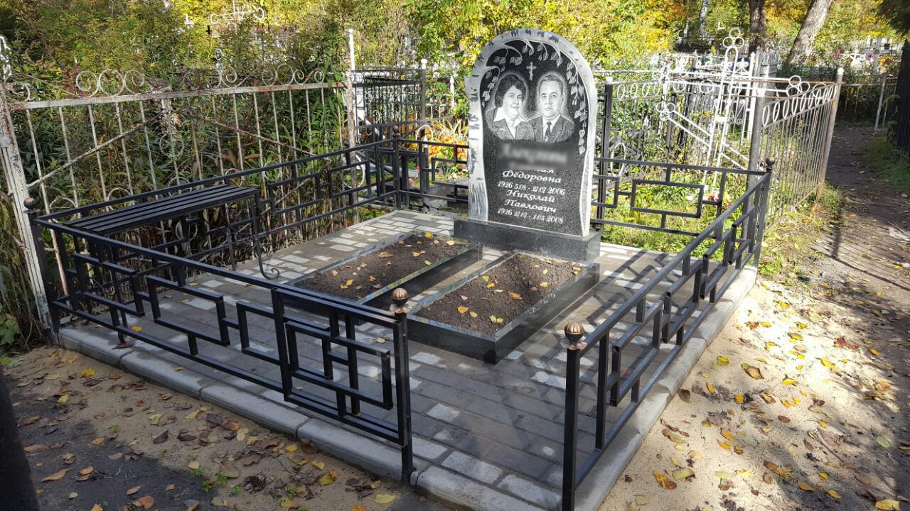 Устранение последствий вандальных действий на кладбище