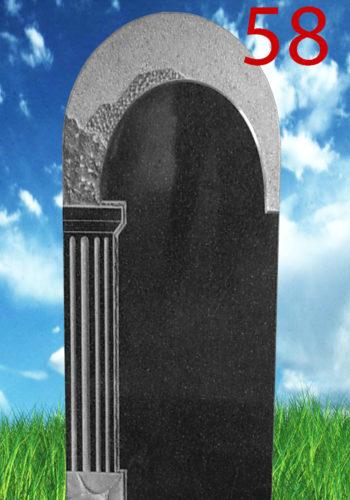памятник из гранита с аркой